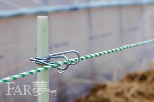 電気柵ワイヤーの正しい繋ぎ方は?、交換の目途は?